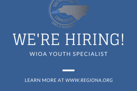 Now Hiring- WIOA Youth Specialist